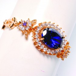 Bracelet - Renaissance Italienne bleu