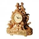 Horloge - Baroque Angelots, H. 23 cm