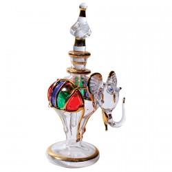 Flacon verre - Eléphant, H. 9,5 cm