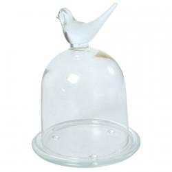 Cloche verre - à Beurre, H. 17 cm