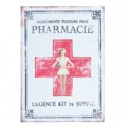 Boite à Pharmacie, H. 15 cm