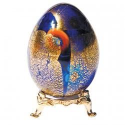 Oeuf de collection verre soufflé - Murano, H. 6 cm