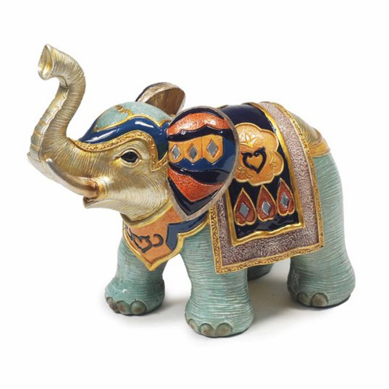 figurine el phant jodhpur h 12 cm art asie inde. Black Bedroom Furniture Sets. Home Design Ideas