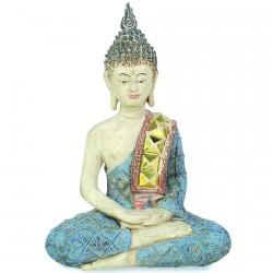 Sculpture - Bouddha : Méditation, H. 21 cm