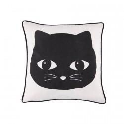 Coussin - Chat Noir, L. 45 cm