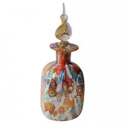 Flacon verre soufflé - Klimt, H. 10 cm