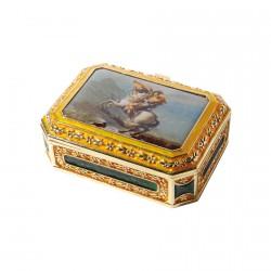 Coffret métal - Bonaparte, L. 7,5 cm