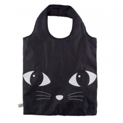 Sac Shopping - Chat noir, H. 55 cm