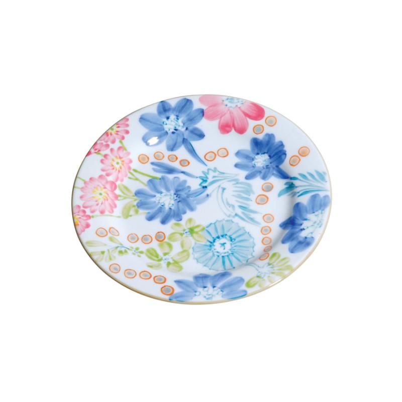 assiettes plates porcelaine monet 20 cm set de 4. Black Bedroom Furniture Sets. Home Design Ideas