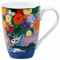 Mug porcelaine - Rosina Wachtmester, H. 11 cm