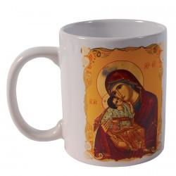 Mug - Icône : Vierge Tendresse, H. 9 cm