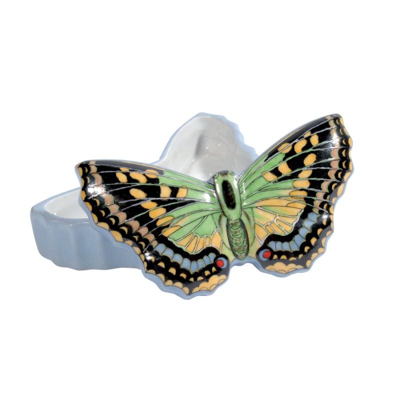 boite papillon porcelaine gm boite coffret bijoux. Black Bedroom Furniture Sets. Home Design Ideas