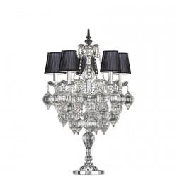 Lampe Cristal - 5 Branches, H. 93 cm