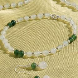 Bracelet - Perles de Jade, Chine ancestrale
