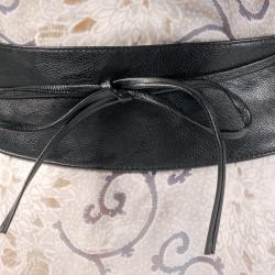 Ceinture - Bandeau Noir, L. 85 cm