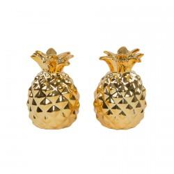 Set Poivre & Sel - Ananas, H. 7 cm