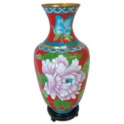 Vase - Qing, H. 25 cm (Lot de 2)
