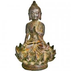 Sculpture - Bouddha du Bonheur, H. 19 cm