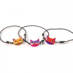 Bracelet shamballa - Chatounet (Lot de 2)