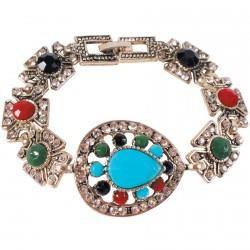 Bracelet - Tabriz argenté, L. 18 cm