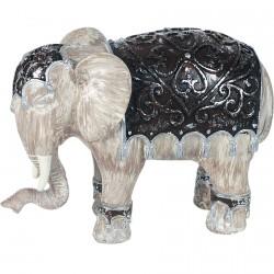 Figurine - Eléphant Jaisalmer, H. 10 cm