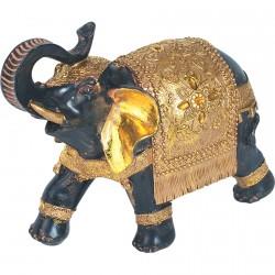 Figurine - Eléphant Jaïpur, L. 20 cm