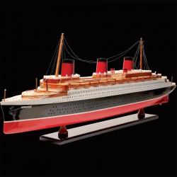 Maquette bateau - Normandie, L. 80 cm