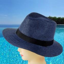 Chapeau - Fedora bleu, TU