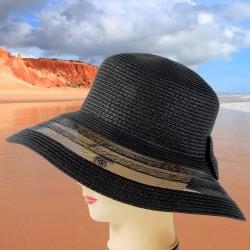 Chapeau Capeline - Judy noir, ø 37 cm
