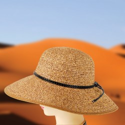 Chapeau Capeline - Out of Africa sable, ø 38 cm