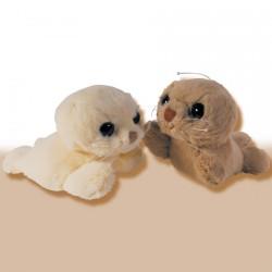 Peluche - Petits Phoques, L. 18 cm (lot de 2)