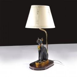 Lampe de Chevet - Chat Bastet, H. 43,5 cm