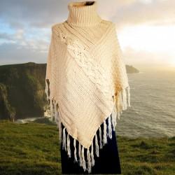 Poncho - Irlandais beige, TU