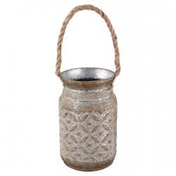 Cache-Pot - Métal, 2 L.