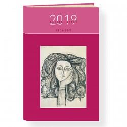 Agenda de Poche 2019 - Picasso, H. 16 cm