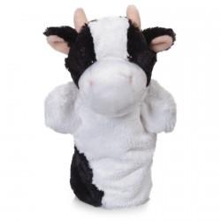 Marionnette - Animaux de la Ferme : La Vache, H. 24 cm