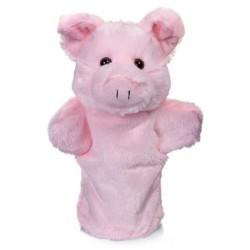 Marionnette - Animaux de la Ferme : Le Cochon, H. 24 cm