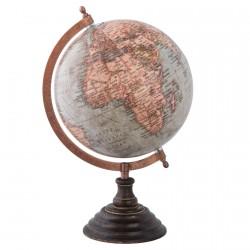 Globe Terrestre - Vintage, H. 33 cm