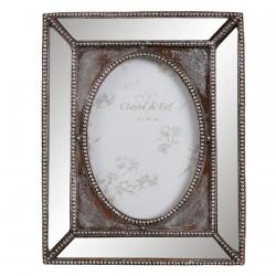 Cadre Photo - Miroir, H. 26 cm