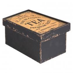 Boite à Thé - Norman Bros Tea Co., L. 18 cm