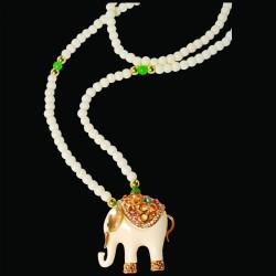 Sautoir - Eléphant, L. 70 cm