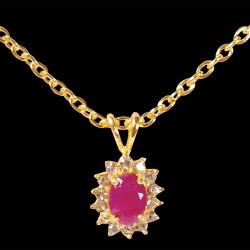 Collier - Rubis 1,6 carat