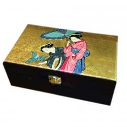 Boite à Bijoux - Geisha Ombrelle, L. 18 cm