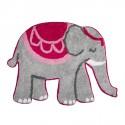 Tapis de Bain - Éléphant Mandala, L. 66 cm
