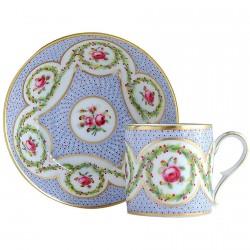 """Tasse à Café - Historique : Niquet, """"Myrtes et roses"""""""