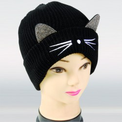 Bonnet - Chat noir, TU