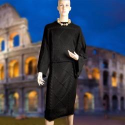 Tenue d'Intérieur - Couture noire, TU