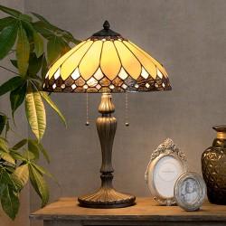 Lampe de Chevet - Tiffany, H. 60 cm