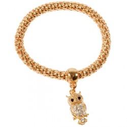 Bracelet - Hibou doré