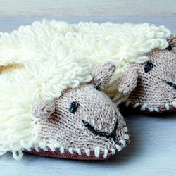 Chaussons - Irlandais beige, Taille S